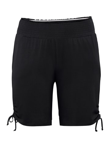 Sheego Shorts in schwarz