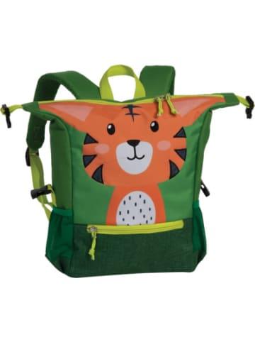 Fabrizio Kinderrucksack Tiger grün