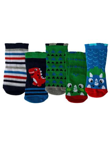 Cucamelon Socken 5er Pack in Dinosaurier