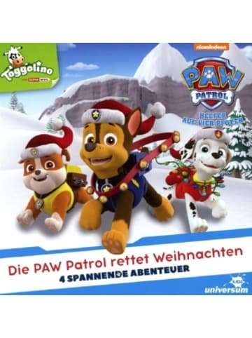LEONINE Distribution Die Paw Patrol rettet Weihnachten, 1 Audio-CD