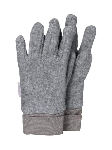 Sterntaler Fingerhandschuh in silber mel.