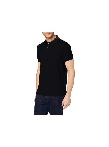Gant Poloshirt kurzarm in schwarz