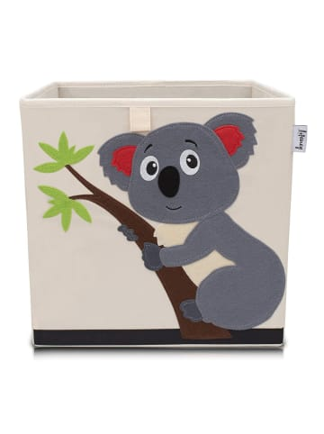 Lifeney Aufbewahrungsbox Koala hell, 33 x 33 x 33 cm