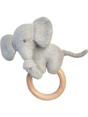 Nattou Greifling Elefant, mit Holzgriff