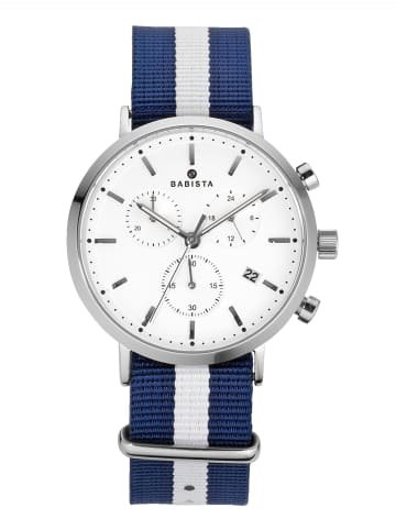 BABISTA 3tlg. Uhren-Set in Silberfarben