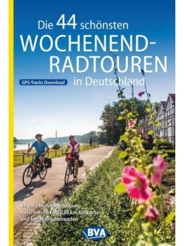 BVA BikeMedia GmbH Die 44 schönsten Wochenend-Radtouren in Deutschland mit GPS-Tracks