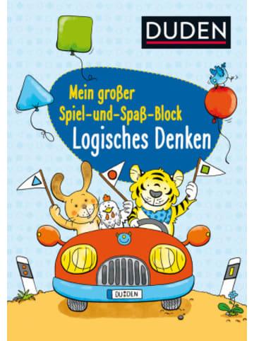 FISCHER Duden Duden: Mein großer Spiel- und Spaß-Block: Logisches Denken