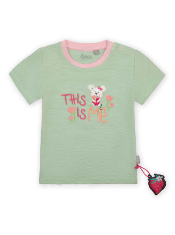 """Sigikid T-Shirt """"This is me"""" in Grün"""