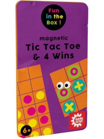 Game Factory Magnetic TicTacToe & 4 Gewinnt
