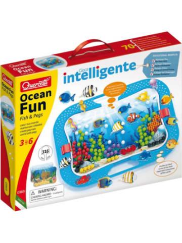 Quercetti Steckspiel Ocean Fun Fish & Pegs
