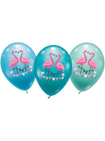 Karaloon Luftballons Flamingo, 15 Stück