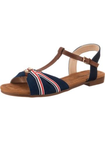 Ambellis Striped T-Steg-Sandale