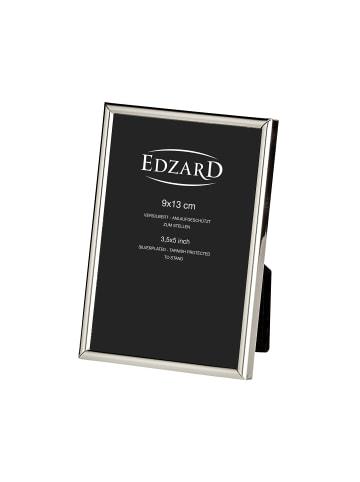 Edzard Bilderrahmen Genua in Silber, für Foto 9x13 cm, Versilbert & Anlaufgeschützt