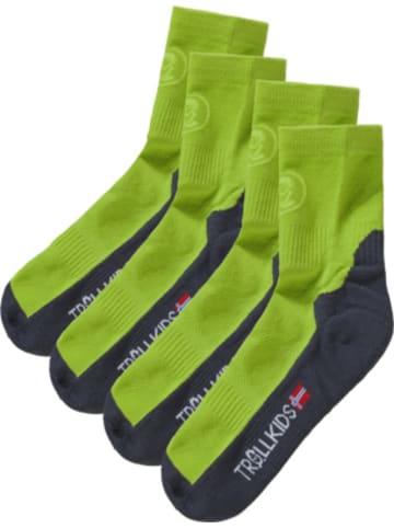 Trollkids Kinder Socken TREKKING II Doppelpack
