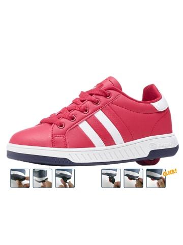 """Breezy Rollers Sneakers mit Rollen """"2176240"""" in Rot/Weiß"""