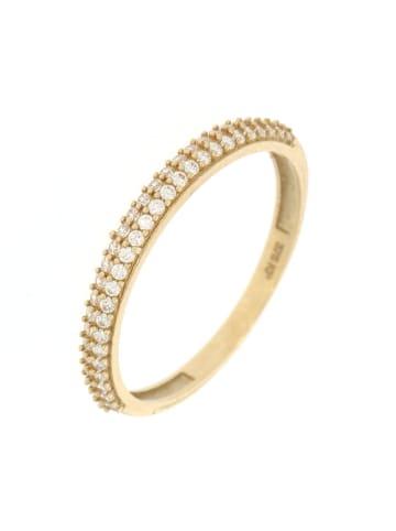 """Luxxos Ring """"mit Zirkonia"""" in gold und weiß"""