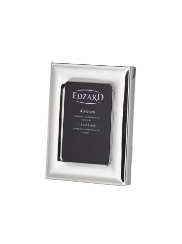Edzard Bilderrahmen Adria in Silber, für Foto 4x6 cm, Versilbert & Anlaufgeschützt