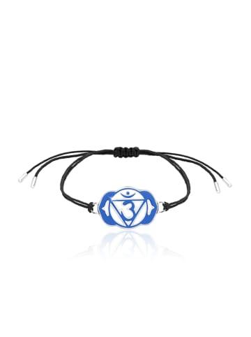 Nenalina Armband 925 Sterling Silber Chakra in Blau