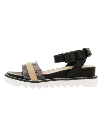 Supertrash Sandale in NUD-BLK