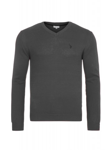 U.S. Polo Assn. U.S. Polo Assn. V-Neck Pullover in ANTHRAZIT