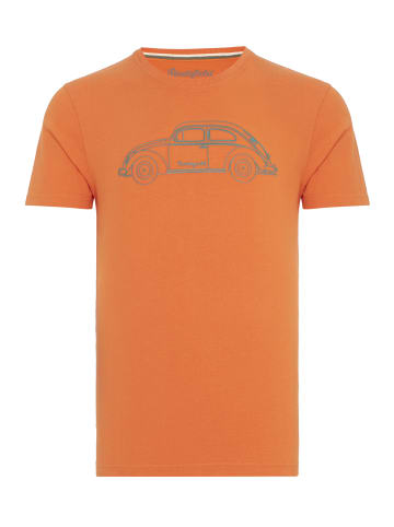 ROUTEFIELD ROUTEFIELD T-Shirt Truth in orange