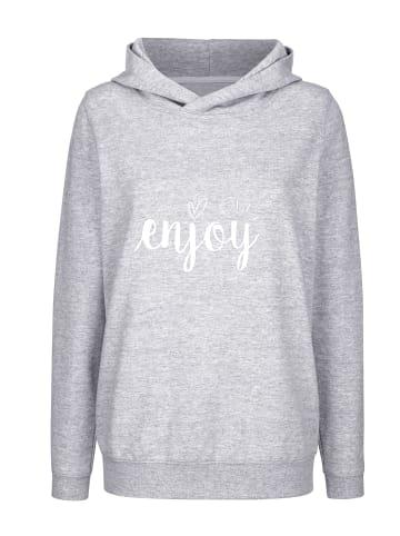 Basically you Sweatshirt in Grau