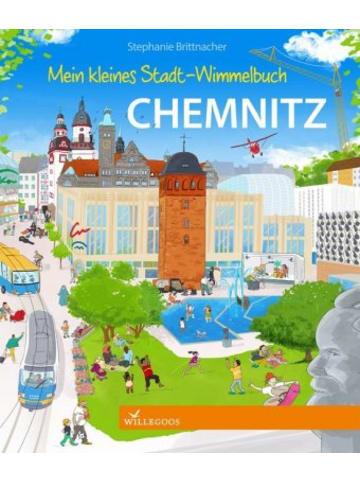 Willegoos Mein kleines Stadt-Wimmelbuch Chemnitz