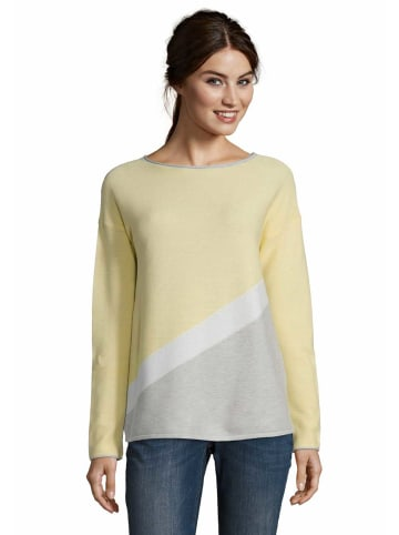 Betty Barclay Strickpullover in gelb