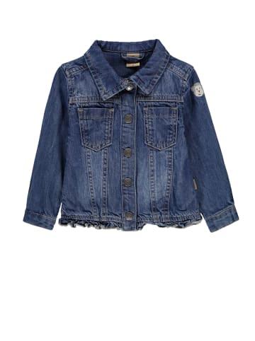 Bellybutton Jeansjacke mit Rüschen Mini Girls in blue denim