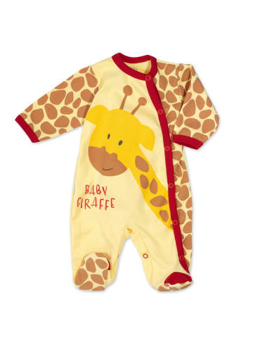 Baby Sweets Schlafanzug Baby Giraffe in bunt