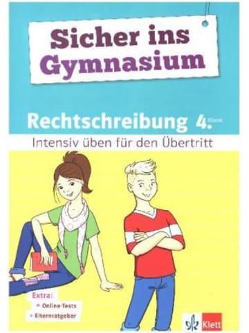 Klett Kinderbuch Klett Sicher ins Gymnasium Rechtschreibung 4. Klasse