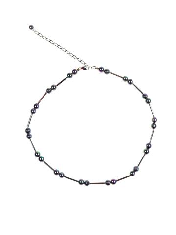 Perlas Orquidea  Perlenkette Kette Virginia in schwarz