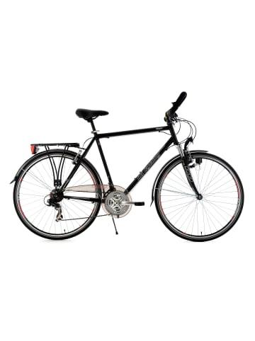 KS CYCLING Trekkingrad Herren 28'' Vegas Multipositionslenker in schwarz
