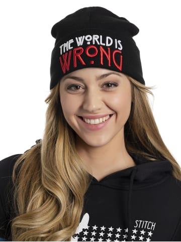 American Horror Story Strickmütze The World Is Wrong in schwarz