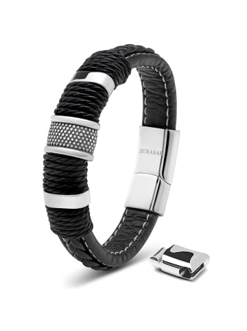 "SERASAR Armband ""Ring"" in Silber"