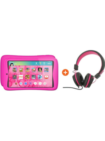 Kurio Bundle: Tab Connect Toggo, pink + Kopfhörer