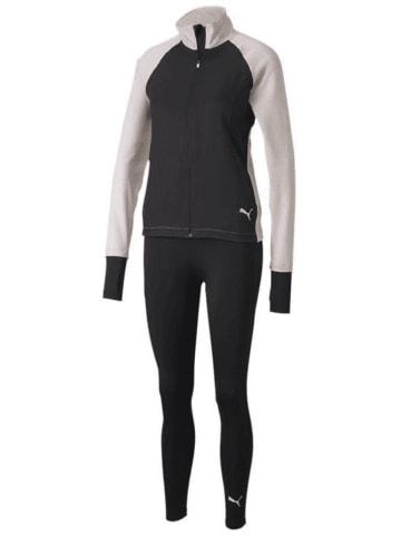 Puma Trainingsanzug ACTIVE Yogini Woven Suit in Schwarz