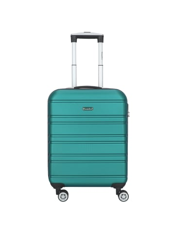 Check.In Paradise Miami 2.0 4-Rollen Kabinentrolley 55 cm in petrol
