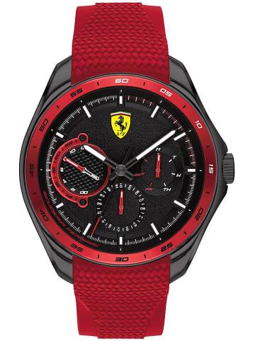 Scuderia Ferrari Multi Zifferblatt Uhr 'Speedracer' in Schwarz/Rot