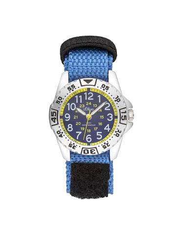 S.Oliver Time Armbanduhr in blau schwarz