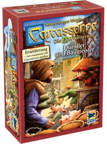 Hans im Glück Carcassonne - Händler und Baumeister, Erweiterung 2
