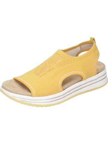 Remonte Klassische Sandaletten in gelb