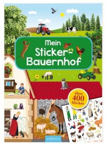 Ars edition Mein Sticker-Bauernhof