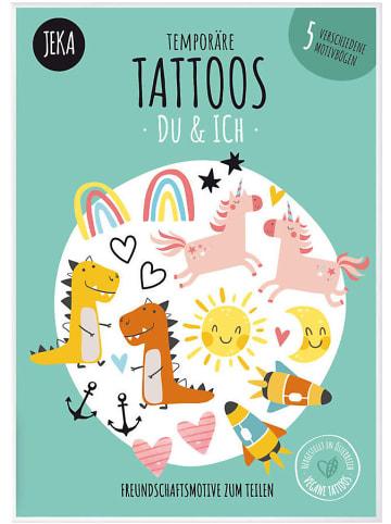 JEKA Papier und Spielwaren Temporäre Tattos Du & Ich