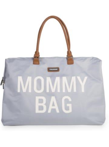 Childhome Wickeltasche Mommy Bag, grau/weiß