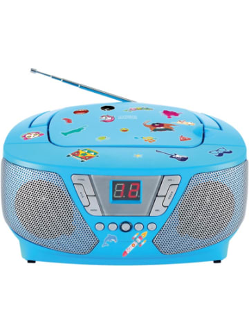 Bigben CD-Player mit Radio CD60 - Kids (blau)