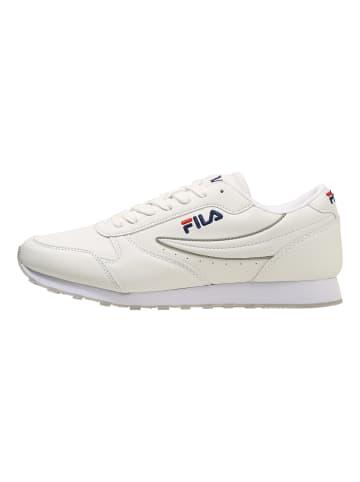 Fila Sneaker Orbit low in white