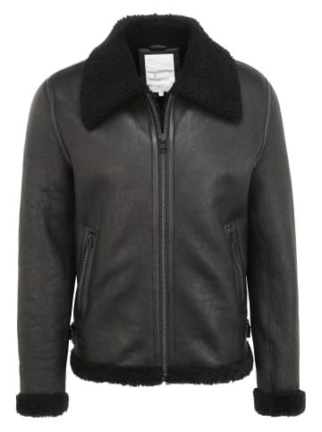 Goosecraft Lederjacke GC Lammy101 in black
