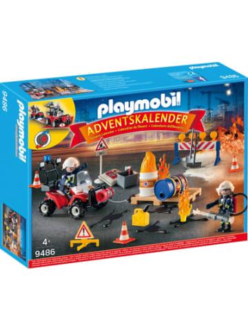 """Playmobil 9486 Adventskalender """"Feuerwehreinsatz auf der Baustelle"""""""