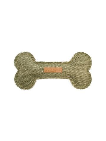 DREAM and DARE  Hundespielzeug James Knochen grün, 18 x 9 x 2,5 cm
